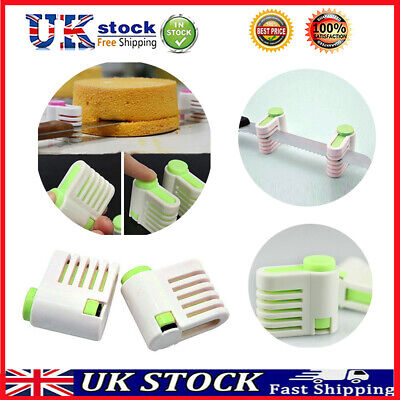 £4.62 • Buy 2pcs 5Layers DIY Cake Bread Cutter Leveler Slicer Cutting Fixator Levellers Tool