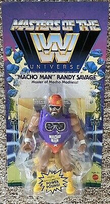 $27 • Buy Masters Of The WWE Universe  Figure Macho Man Man-at-Arms Walmart Exclusive MOTU