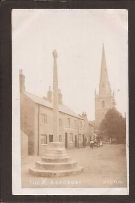 Asfordby, Melton Mowbray. The Cross And Street. W.Till RP. • 9.99£