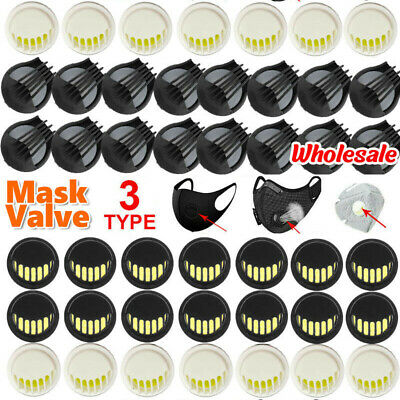 $ CDN10.11 • Buy Sport Mask Breathing Valve Replacement Part Cycling Mask Respirator Filter 1-100