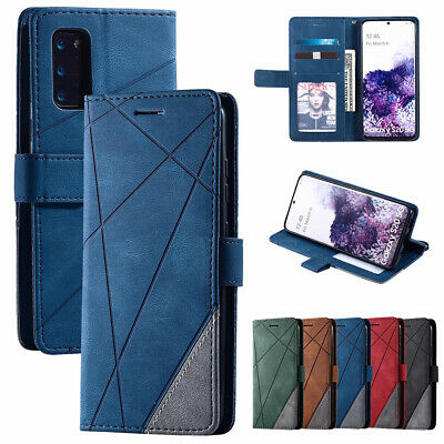 $ CDN9.68 • Buy For Samsung Note 20 S20+ Ultra S10 S9 S8 PU Leather Wallet Cards Case Flip Cover