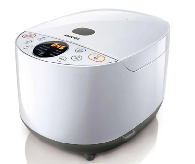 AU119 • Buy Philips Grain Master Rice Cooker White HD4514/72