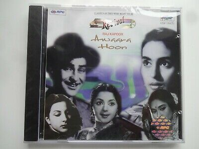 REVIVAL ~ RAJ KAPOOR ~ AWAARA HOON ~ Bollywood Soundtrack Hindi CD ~ 1998 ~ New • 9.95£
