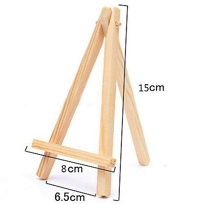 Mini Wooden Cafe Table Number Easel Wedding Place Name Card Holder Stan;UK • 3.65£