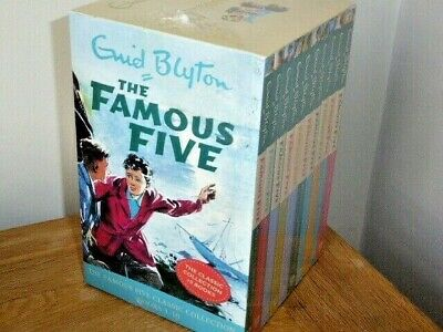 Enid Blyton The Famous Five Classic Collection Books 1-10 Boxed Set - Brand New • 32.99£