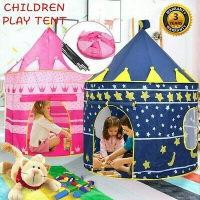 Kids Wizard Princess Castle Tent Indoor Outdoor Fun Playhouse Play Toy Child • 8.95£