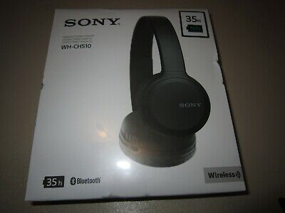 Sony WH-CH510 On-Ear Bluetooth Headphones - Black **NEW & SEALED** • 31.99£