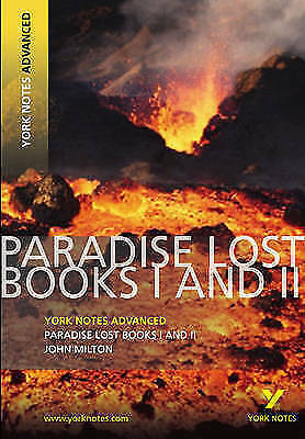 Paradise Lost: York Notes Advanced By Geoff Ridden (Paperback, 2009) Books 1 & 2 • 1.50£
