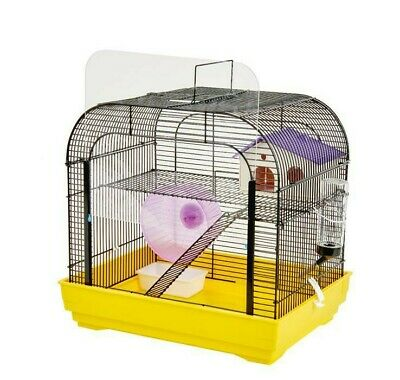 Syrian Dwarf Hamster Gerbil Mouse Rat Rodent Small Pet Cage House Wheel Easipet • 24.99£