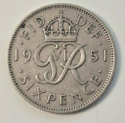 1948-1967 English Sixpence Coins - Choose Your Date - Free P&P • 1.49£
