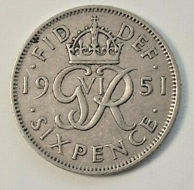 £1.49 • Buy 1951 -1967 English Sixpence Coins - Choose Your Date