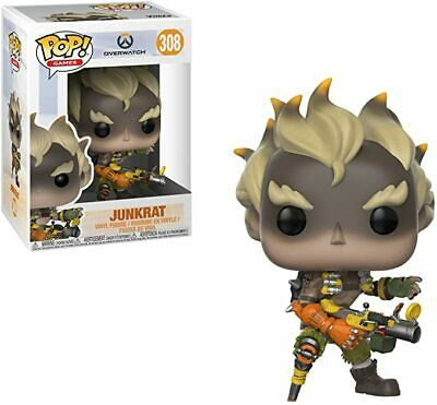 AU23.26 • Buy Junkrat Pop Vinyl 308 - OVERWATCH COLLECTION - BRAND NEW