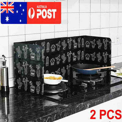 AU16.85 • Buy Kitchen Cover Screen Anti-Splatter Oil Splash Shield Guard VW Cooking Frying Pan