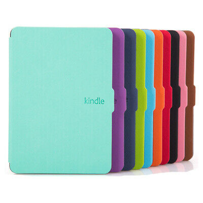 PU Leather Protective Shell Magnetic Cover For Amazon Kindle Paperwhite 1/2/3 • 5.28£
