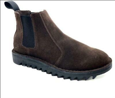 AU169 • Buy Ripple Sole Mens Brown Suede Ducatti Boots