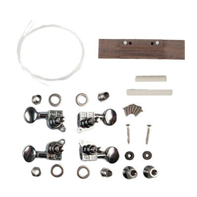 AU14.51 • Buy 1 Set DIY 26in Ukulele Kit Accessories Parts Gift For Kids Amateur Beginning