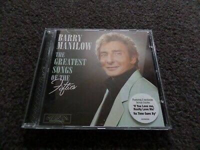 Cd Album - Barry Manilow - The Greatest Songs Of The Fifties • 1£