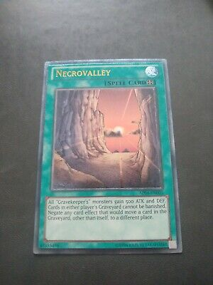 Yugioh Necrovalley Ultimate Rare Ap04-en003 • 100£