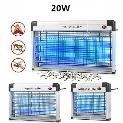 Electric Insect Mosquito Fly Killer Bug Zapper UV Home Indoor Pest Catcher Trap • 21.99£