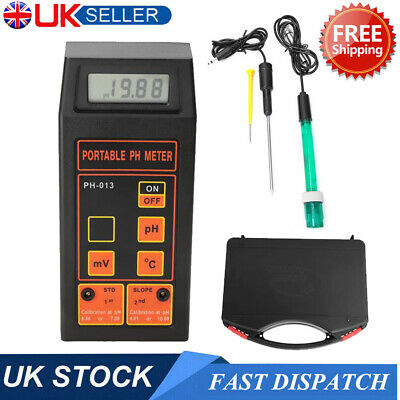 3in1 PH ORP Temperature Water Quality Tester With PH & ORP Electrodes Temp Probe • 19.99£