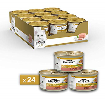 Gourmet Gold Pate For The Cat, With Vegetables, With Duck, Carrots And Spinach, • 28.16£