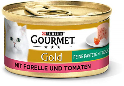 Purina GOURMET Gold Fine Pate, High-quality Cat Wet Food, Pet Food, With For Of • 20.47£