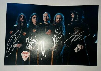 $ CDN178.35 • Buy Avatar || Avatar Band || Guitar Pick || Autographed Signed Photo 20×30 Cm