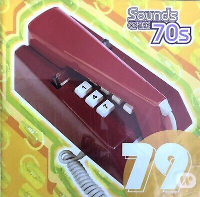TIME LIFE SOUNDS OF THE 70'S 79 2 CD Toto Chic Boney M The Knack Elo Blondie • 9.99£