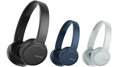 Sony WH-CH510 Wireless Bluetooth Headphones - Black / White / Blue- RETAIL BOXED • 31.99£