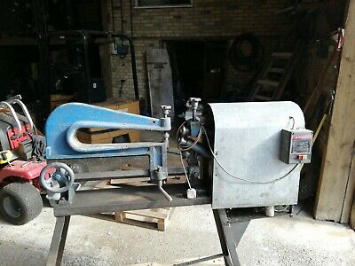Sheet Metal Circle Cutter Used Condition Converted To Power Feed • 0.99£