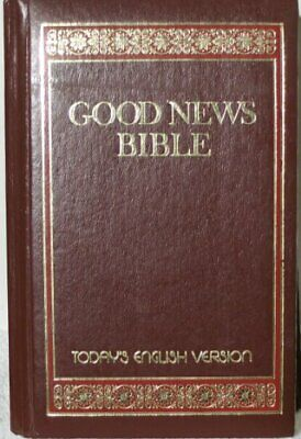 Special Edition Good News Bible Book The Cheap Fast Free Post • 7.99£