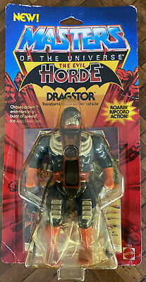 $199.99 • Buy MOTU VINTAGE DRAGSTOR Masters Of The Universe MOC Clear Sealed He-Man