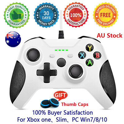 AU43.90 • Buy AU NEW Wired Controller Gamepad For Xbox One/Slim Console Dualshock PC Windows