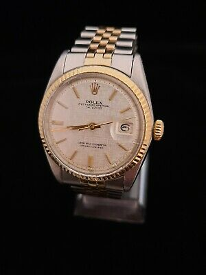 $ CDN4500 • Buy  Vintage Rolex Oyster Perpetual Superlative Chronometer 14K Gold 1966 DateJust