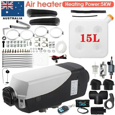 AU189.99 • Buy 12V 2/3/5KW Diesel Air Heater Thermostat Caravan Motorhome Complete Accessories*