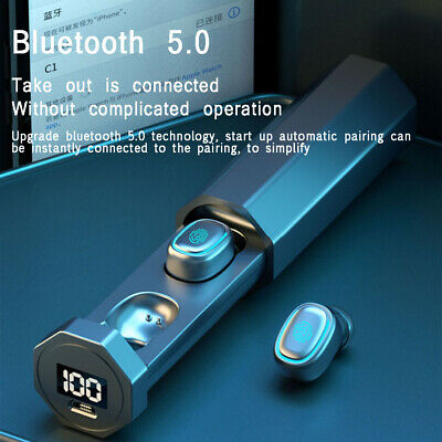 $ CDN14.99 • Buy TWS Bluetooth 5.0 Earphones Wireless Headphones Smart Touch Mini Earbuds Headset