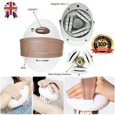 £10.85 • Buy 3D Electric Anti-Cellulite Body Massager Roller Shaping Slim Massaging Machine