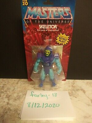 "$19.99 • Buy Mattel SKELETOR Masters Of The Universe Origins Retro 5.5"" IN HAND MOTU HE-man"