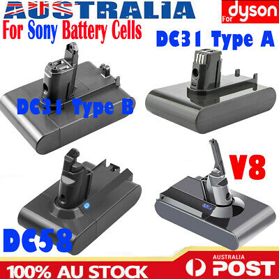 AU29.69 • Buy For Dyson V8 V6 DC16 Battery DC31 Animal Absolute Fluffy Cordless Vacuum Cleaner
