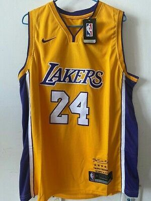 AU34 • Buy LA Lakers Kobe Bryant #24 NBA Basketball Jersey A@#