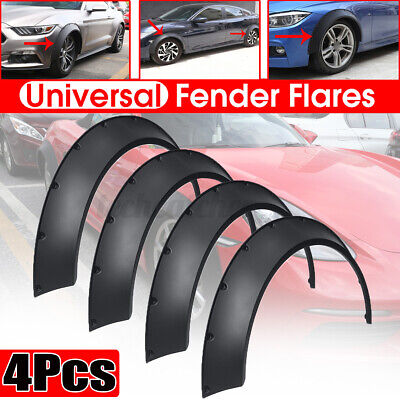 $ CDN68.63 • Buy 4Pcs Fender Flares 3.5'' 3.9'' Extra Wide Body Kit Wheel Arches Cover For BMW