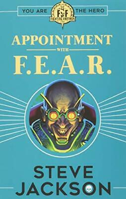 AU19.64 • Buy Fighting Fantasy: Appointment With F.E.A.R., Jackson 9781407186177 New+-