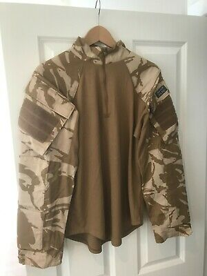 Genuine British Army Desert DPM UBACS Under Body Armour Combat Shirt • 10£