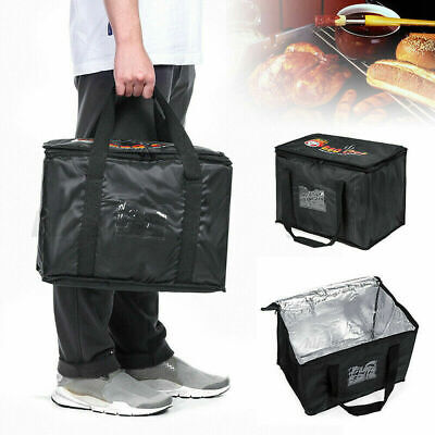 Food Delivery Insulated Bags Pizza Takeaway Thermal Warm/Cold Bag Ruck 3 Sizes • 9.99£