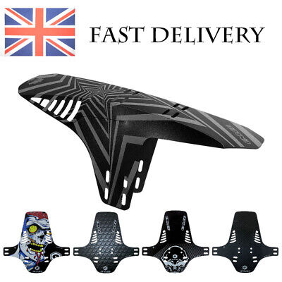 2pcs Bike MTB Front Rear Fender Mudguard Guard Set Mountain Bike Bicycle Mud • 6.59£