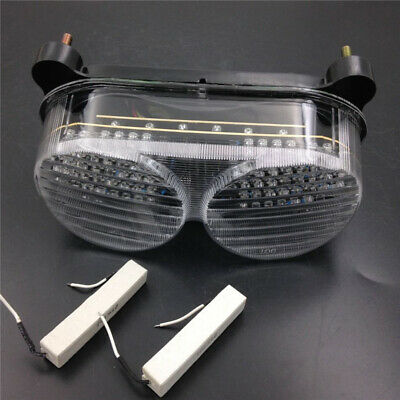 $31.84 • Buy Brand New LED Tail Light Fit Kawasaki Ninja ZX6R 1998-2002 ZX9R 1998-2005 Clear