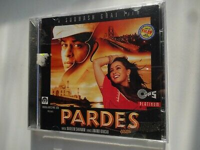 PARDES ~ Bollywood Soundtrack Hindi CD ~ Nadeem Shravan ~ 1997 • 14.95£