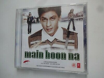 MAIN HOON NA ~ Bollywood Soundtrack Hindi CD ~ Anu Malik ~ 2004 • 4.95£