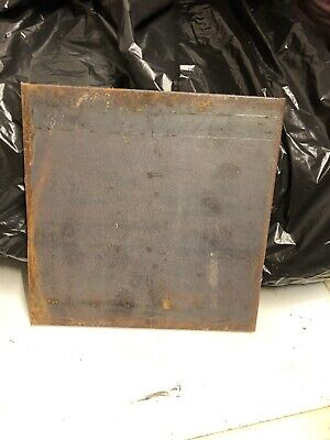 Mild Steel Plate 200mm X 200mm 10mm Thickness 8 Available Job Lot 8 In Total • 5£