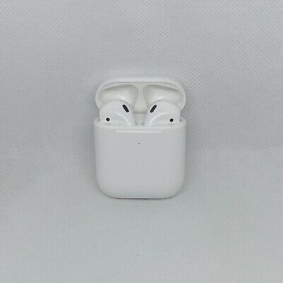 $ CDN124.95 • Buy Apple AirPods 2nd Generation With Wireless Charging Case - White (MRXJ2AM/A) NEW